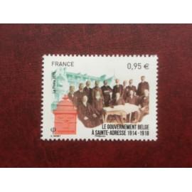 France 4934 ** Belgique gouvernement Sainte Adresse  en 2015