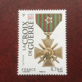 France 4942 ** La croix de guerre  en 2015