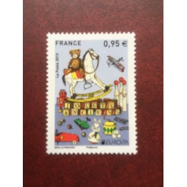 France 4953 ** Europa Jouet Cheval ours   en 2015
