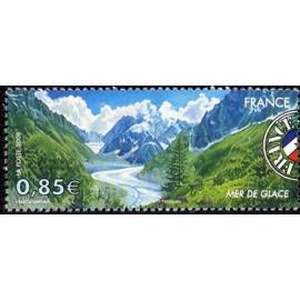 France 4256 ** Mer de Glace Chamonix  en 2008