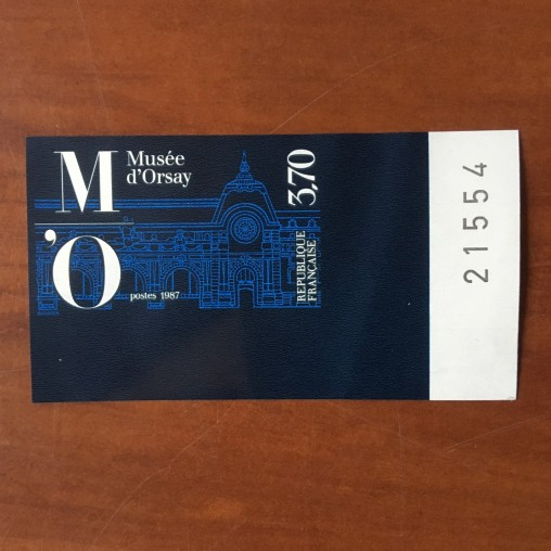 France  2451 non dentelé Musee d ' Orsay en 1986