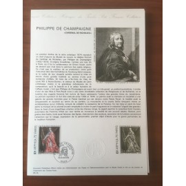 Document Officiel 1766 Tableau Richelieu  1973 num 05-74