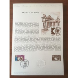 Document Officiel 1783 Arphila  1974 num 01-74