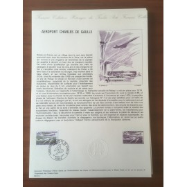 Document Officiel 1787 Aeroport De Gaule  1974 num 04-74