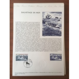 Document Officiel 1791 Sauvetage Bateau  1974 num 08-74