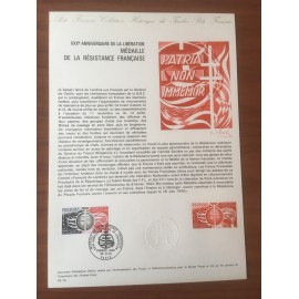 Document Officiel 1821 Resistance  1974 num 33-74