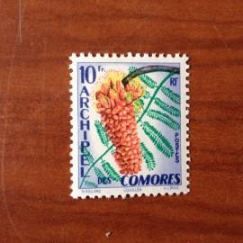 Comores 16 ** MNH Fleurs en 1958
