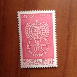 Comores 25 ** MNH Paludisme en 1962