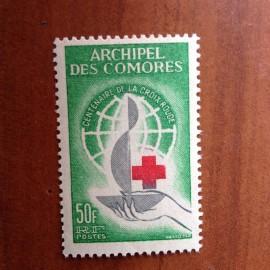 Comores 27 ** MNH Croix Rouge en 1963