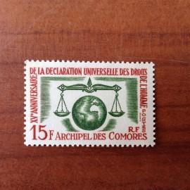 Comores 28 ** MNH Droit de l'homme en 1963