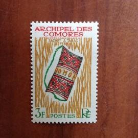 Comores 29 ** MNH Sachet Tabac en 1963
