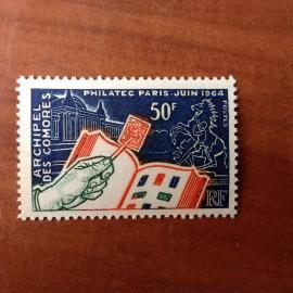 Comores 32 ** MNH Philatec en 1964