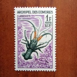 Comores 35 ** MNH Langouste en 1966