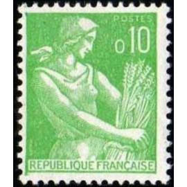 France Yvert Num 1231 ** Moisson 0,10  1960