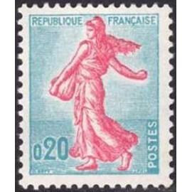 France Yvert Num 1233 ** Semeuse  1960