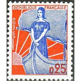France Yvert Num 1234 ** NEF  1960