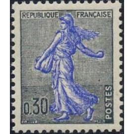 France Yvert Num 1234A ** semeuse  1960