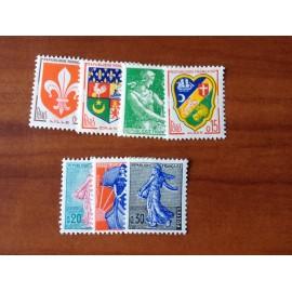 France Yvert Num 1230-1234A **   1960