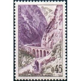 France Yvert Num 1237 ** Pont Algerie  1960