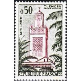 France Yvert Num 1238 ** Tlemcen  1960