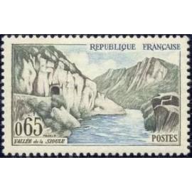 France Yvert Num 1239 ** Sioule  1960
