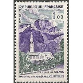 France Yvert Num 1241 ** Reunion Cilaos  1960