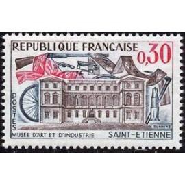 France Yvert Num 1243 ** Saint Etienne  1960