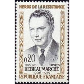 France Yvert Num 1248 ** Resistance   1960