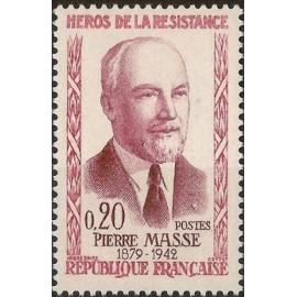 France Yvert Num 1249 ** Resistance P Masse  1960