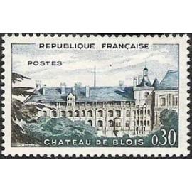 France Yvert Num 1255 ** Château Blois  1960