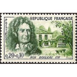France Yvert Num 1259 ** Boileau  1960