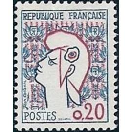 France Yvert Num 1282 ** Cocteau  1961