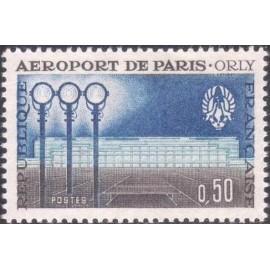 France Yvert Num 1283 ** Paris Orly  1961