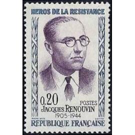France Yvert Num 1288 ** Resistance  1961