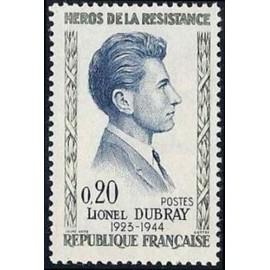 France Yvert Num 1289 ** Resistance  1961