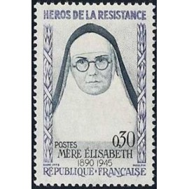 France Yvert Num 1291 ** Resistance  1961