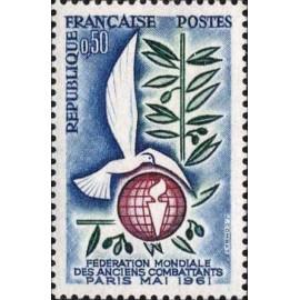 France Yvert Num 1292 **   1961