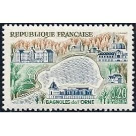 France Yvert Num 1293 ** Bagnoles de L'orne  1961