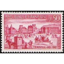 France Yvert Num 1294 ** Deauville  1961