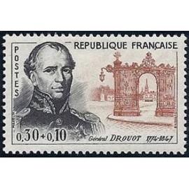 France Yvert Num 1298 ** General Drouot  1961