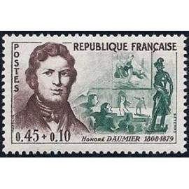France Yvert Num 1299 ** Honoré Daumier  1961