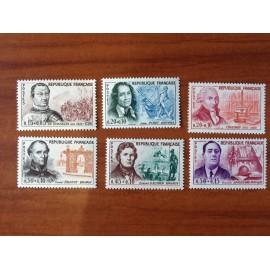 France Yvert Num 1295-1300 **   1961