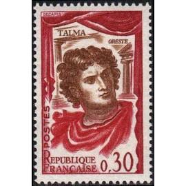 France Yvert Num 1302 ** Talma  1961