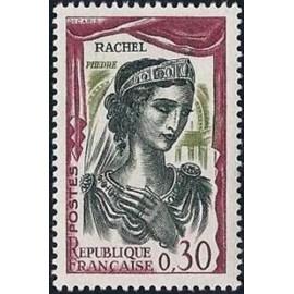 France Yvert Num 1303 ** Rachel phedre  1961