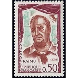 France Yvert Num 1304 ** Raimu en Cesar  1961
