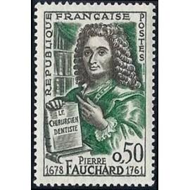 France Yvert Num 1307 ** Pierre Fauchard Le Bel  1961