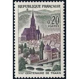 France Yvert Num 1308 ** Thann  1961