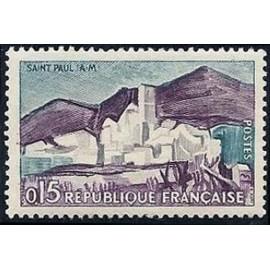 France Yvert Num 1311 ** Europa  1961