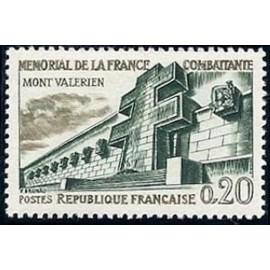 France Yvert Num 1335 ** Resistance  1962