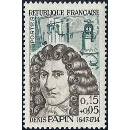 France Yvert Num 1345 ** Denis Papin  1962